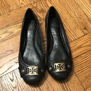 Tory Burch 7.5M black flats